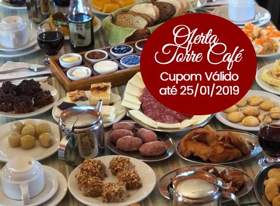 Promo��o de ter�a a domingo valido at� 25/01/2019 - Cafe Colonial para 1 pessoa de R$80,00 por apenas R$39,90